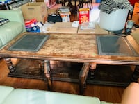 Antique coffee table and side table  Annandale
