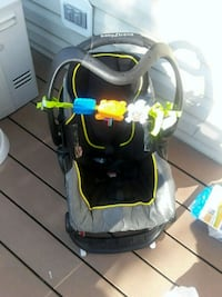 baby's black and gray car seat carrier Gainesville