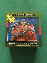 Brand new Dowdle Christmas Delivery jigsaw puzzle Toronto, M2M 4J2