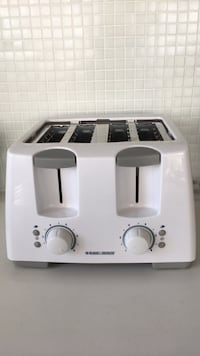 black & decker 4 slice toaster Toronto, M8Y