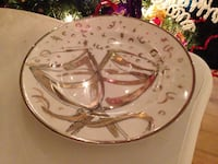 Gold and White Special Occasion Plates  Port Moody, V3H 5E2