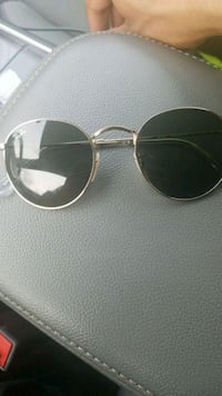 silver framed Ray-Ban aviator sunglasses Queens, 11434