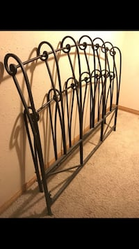 Wrought iron head and footboard  Peoria, 61614