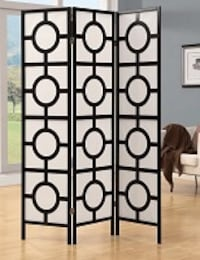 Black and white space divider