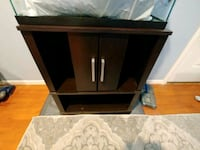22 gal fish tank and.stand plus stuff Henderson, 89015