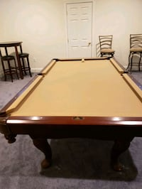 brown and white pool table Fort Washington, 20744