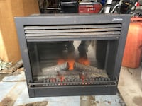 black and gray electric fireplace Toronto, M6L 2P6