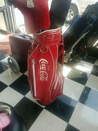 red and black leather golf bag Tullahoma, 37388