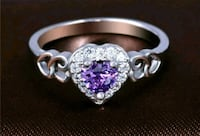 New size 7 silver plated ring San Antonio, 78214