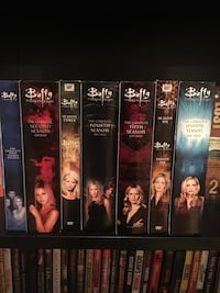 Buffy DVD case collection