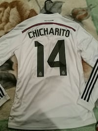 white Chicharito 14 jersey shirt Prunedale, 93907