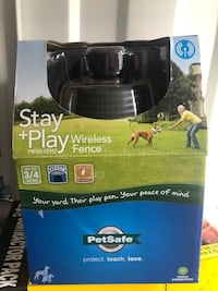 Stay and play wireless fence