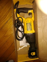 yellow and black Dewalt corded power drill East Riverdale, 20737