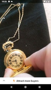 Womens Necklace Watch