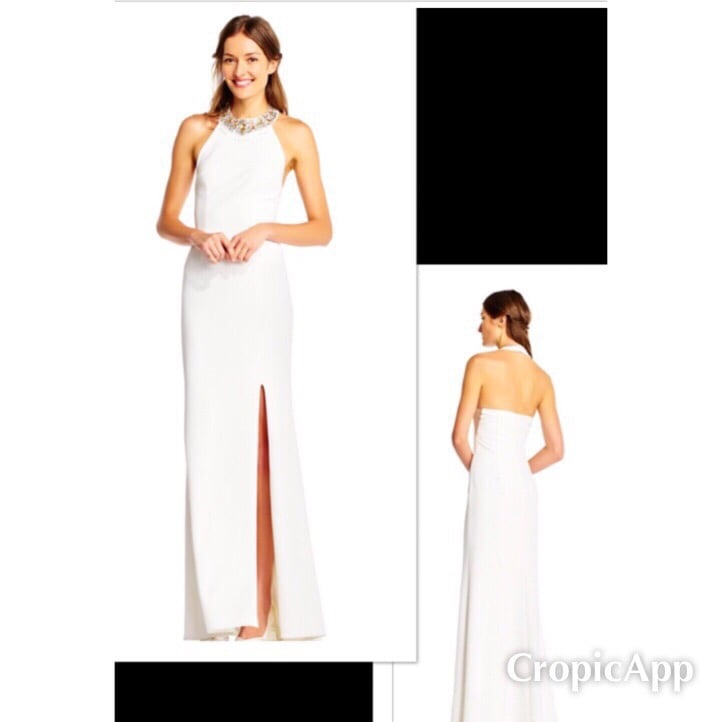 New With Tags Adrianna Papell Size 16 Bridal Gown $135