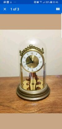 Vintage Schmid-Schlenker Clock with Dome London, N6K 3N1