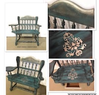 Rustic Foyer Bench Seat  Barrie