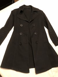 Black light trench jacket Toronto, M1P 4P5