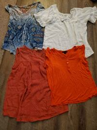 2 NWT shirts & 2 Used Shirts *$10 for All* Med. Small