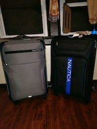 two black and gray luggage bags $100 each or $150  Buffalo, 14201