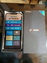 Ulefone power 3S 4+64 6pulg gold