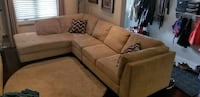 sectional sofa  Toronto, M6H 3M9