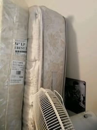Double sided pillow mattress and box spring Edmonton, T5T 1T8