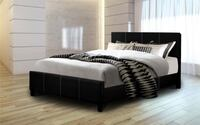 platform bed with free mattress and box spring 48 km