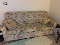 pink and white floral fabric sofa LASVEGAS