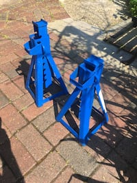 Two Car Jack Stands
