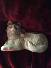 Antique USA cat planter