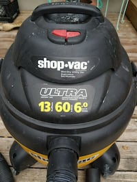60 Litre Shop Vac with 3 attachments.  Calgary, T2K 2B3