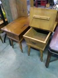 Wooden End Tables 369 mi