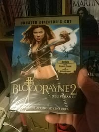 Unopened BloodRayne 2 DVD signed by Uwe Boll Vancouver, V6E 1L4