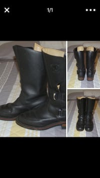 Chippewa motorcycle boots. Size 9.5D.