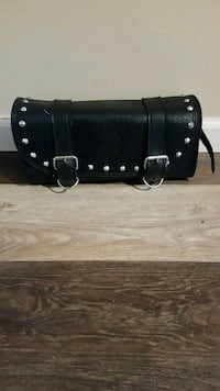 Lether motorcycle saddle bag Plymouth