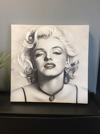 Brand new MARILYN MONROE FRAMED CANVAS WALL ART PICTURE PRINT Vancouver