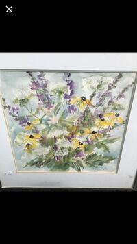 Watercolor Signed By Gail B 197 mi