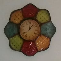 Nice size multicolor wall clock  Pikesville, 21208