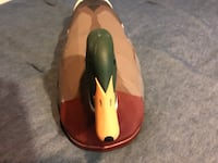 Brown and green duck figurine Whitpain, 19422