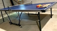 Foldable Ping Pong Table Like New