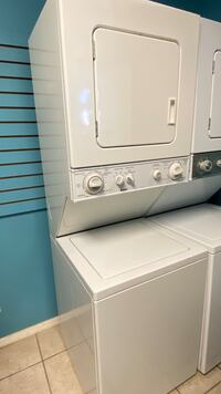 """24"""" Kenmore Electric Stacked Laundry Center"""