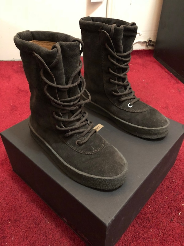 purchase cheap 5f73f 7842b Yeezy Season 2 Crepe Boot Oil