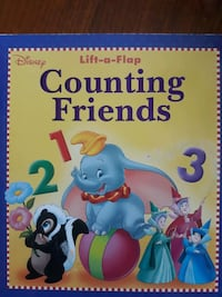 Disney Lift-a-Flap Counting Friends Providence