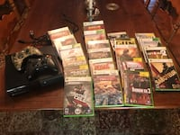 XBox 360 with 2 Controllers and assorted Games Chantilly, 20152