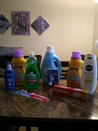 assorted household cleaning products lot Norfolk, 23523
