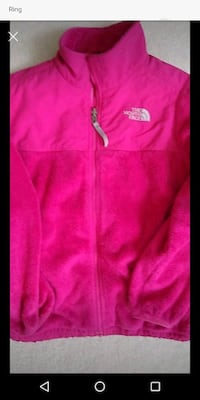 Fleece jacket by North Face L 14-16
