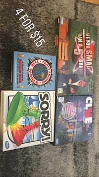 4 board games for $15