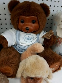 Collectible Raines Bears with baby dog 555 km