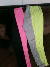 2 Workout Capris Large Pueblo, 81001